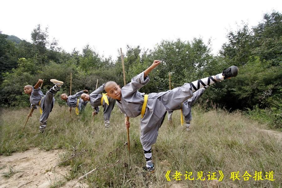揭秘嵩山少林的小武僧图片